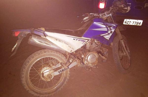 moto roubada agora