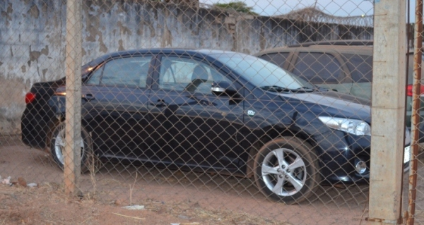 O Honda Corolla de Maurício