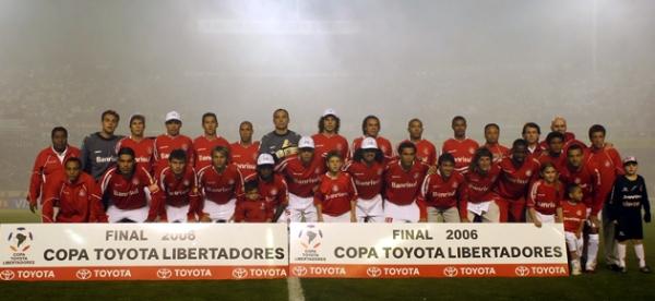 O time campeão da Libertadores, liderado pelo inesquecível Fernandão e Abel Braga