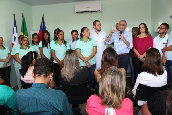 O prefeito Humberto Santa Cruz fez um balanço das ações desenvolvidas na saúde, em especial, na transformação do Gileno em hospital e maternidade