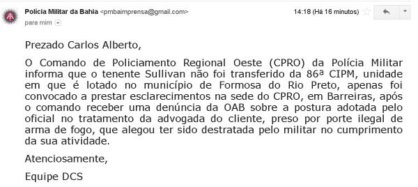 PM Bahia
