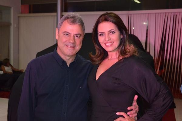 José (Zuba) Brandão e esposa lideraram a festa de lançamento