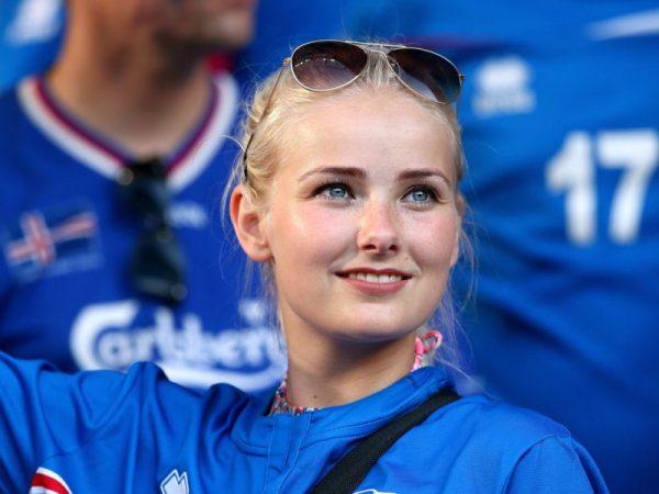 Uma islandesa: imagina só se você tiver a sorte de casar com uma bonitinha dessas.