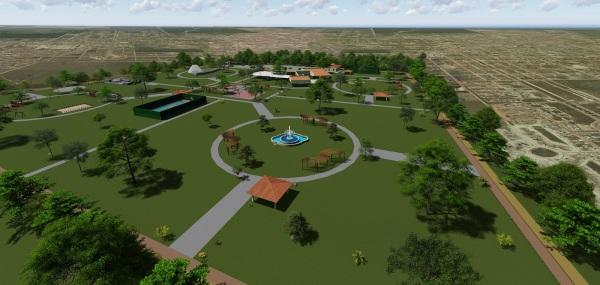 Projeto do parque sócio-ambiental