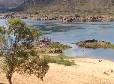 O rio, próximo ao local onde foi encontrado o corpo do ator