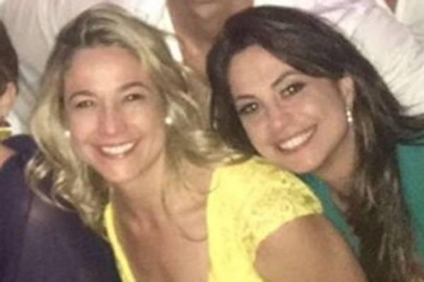 Fernanda Gentil e a namorada Priscila