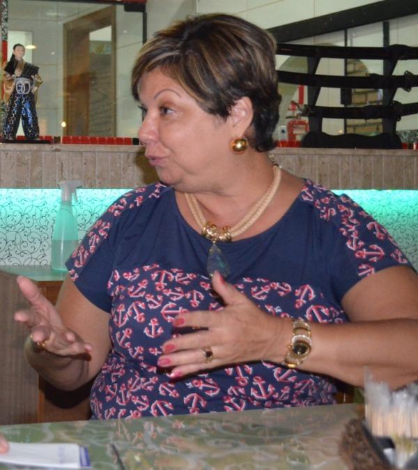 Gardênia em foto de Patrícia Villeroy
