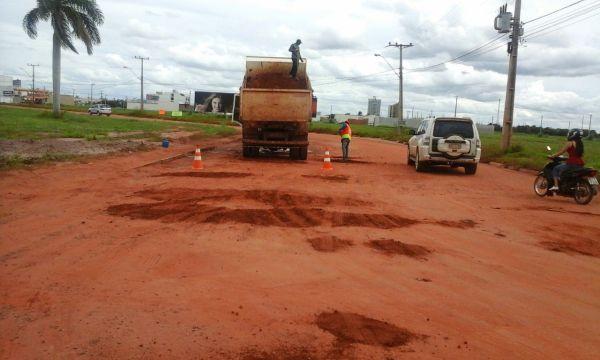 asfaltamento