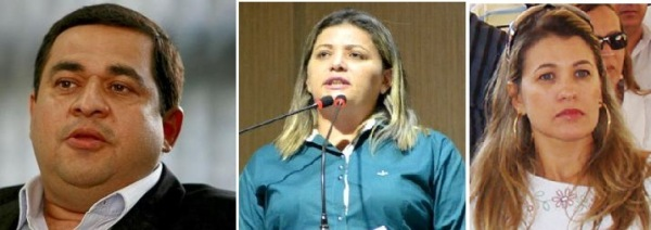 Demir, Karlúcia e dona Marizete: corrida para chegar à ALBA.