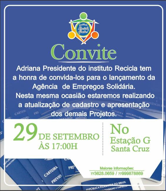 Adriana convite