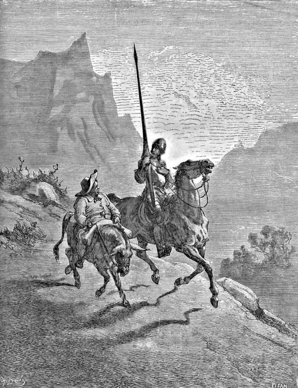 Conversas do Mano: O Engenhoso Fidalgo Dom Quixote de La Mancha
